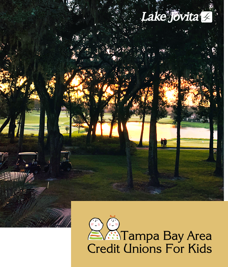 Lake Jovita Golf Course For a Tampa Bay Area Credit Union for kids event