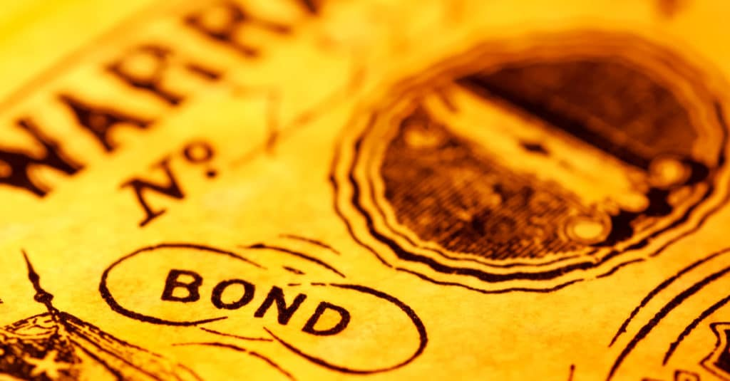 old bank bond note